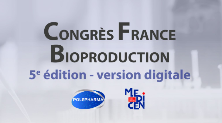 IDBIOTECH WILL ATTEND THE 5TH FRANCE BIOPRODUCTION CONGRESS, JUNE 17-18 & 22-23, 2021